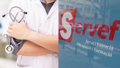 trabajadores sanitarios en el paro